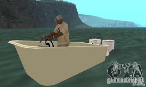 Bathtub Dinghy для GTA San Andreas вид слева