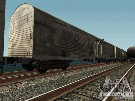 Рефрежираторный вагон Дессау №10 для GTA San Andreas