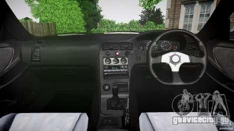Nissan Skyline R33 для GTA 4 вид справа