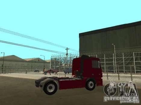 Mercedes Actros Tracteur 3241 для GTA San Andreas вид справа
