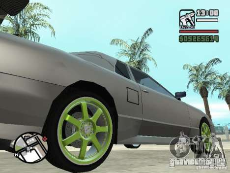 Elegy First Update By reNz для GTA San Andreas вид слева