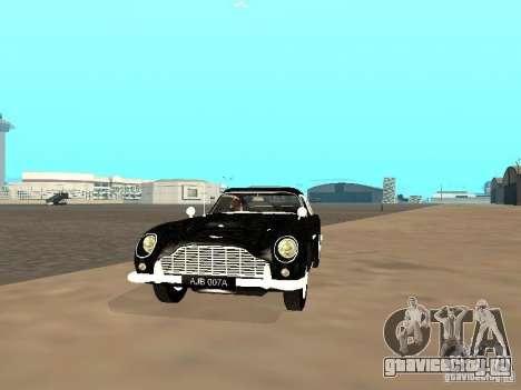 Aston Martin DB5 для GTA San Andreas вид слева