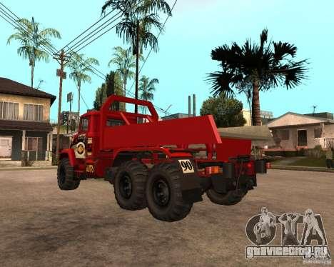 КрАЗ 6322 Триал для GTA San Andreas вид справа