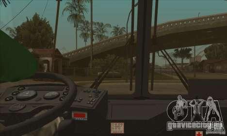 МАЗ-152А для GTA San Andreas вид сверху