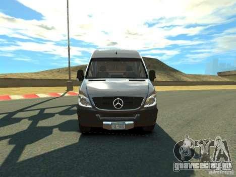Mercedes-Benz Sprinter 2500 для GTA 4 вид слева