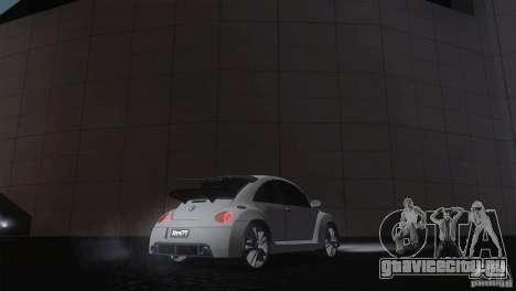 Volkswagen Beetle Tuning для GTA San Andreas вид сзади слева
