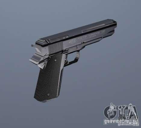 Новый пистолет для GTA Vice City второй скриншот