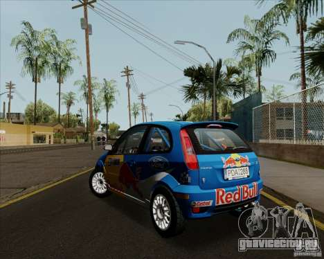Ford Fiesta ST Rally для GTA San Andreas вид справа