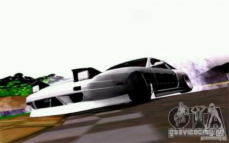 Nissan S13 Onevia для GTA San Andreas вид сзади