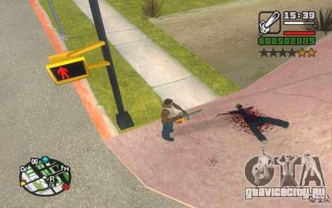 Новые эффекты для GTA San Andreas второй скриншот