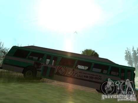 Bus из ГТА 4 для GTA San Andreas вид слева