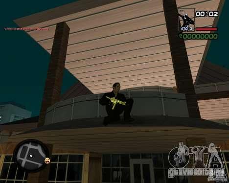 MP5 Gold для GTA San Andreas второй скриншот