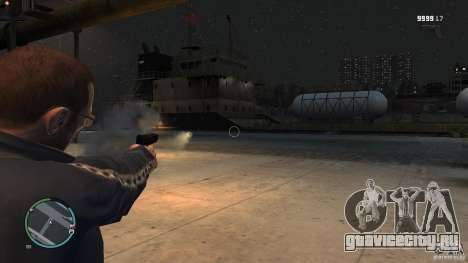 Пистолет-ракетница для GTA 4 четвёртый скриншот