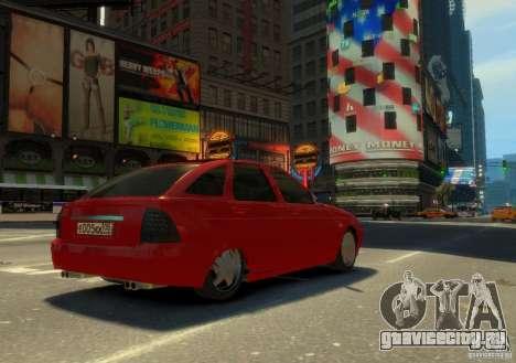 Лада Приора хетчбэк для GTA 4 вид слева