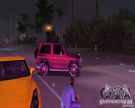 Mitsubishi Pajero для GTA Vice City вид сзади слева