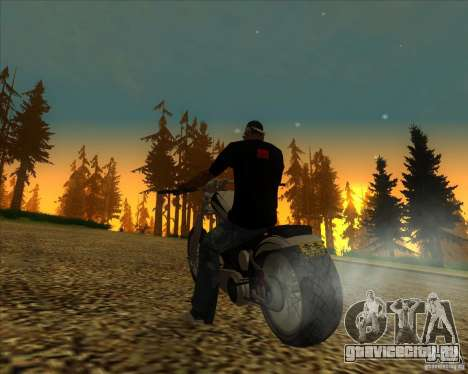 Hexer bike для GTA San Andreas вид сбоку