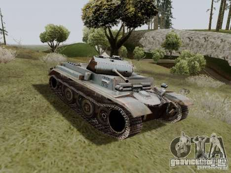PzKpfw II Ausf.B для GTA San Andreas