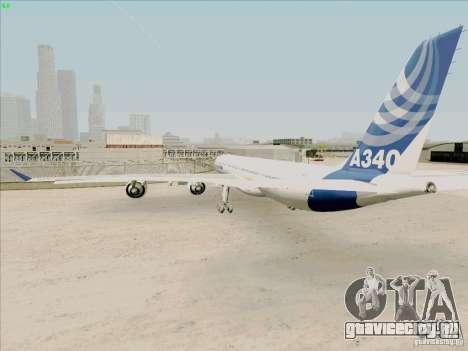 Airbus A-340-600 для GTA San Andreas вид справа
