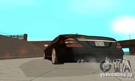 Brabus SV12 S Biturbo (w221) 2006 для GTA San Andreas