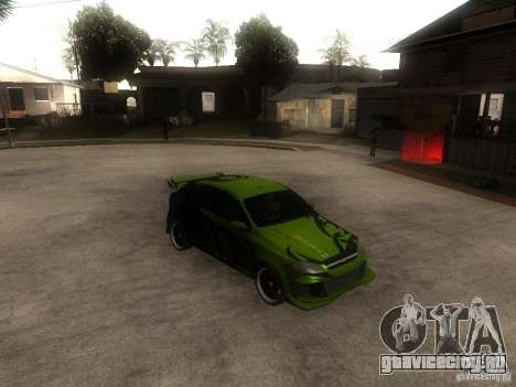 Chevrolet Lacetti Tuning для GTA San Andreas вид справа