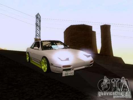 Nissan Silvia S13 Drift Style для GTA San Andreas двигатель
