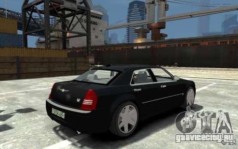 Chrysler 300C для GTA 4 вид справа