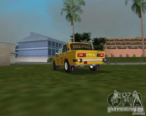 Ваз 2106 Такси для GTA Vice City вид слева