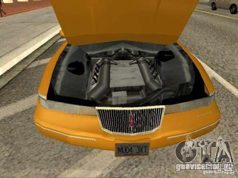 Lincoln Mark VIII 1996 для GTA San Andreas