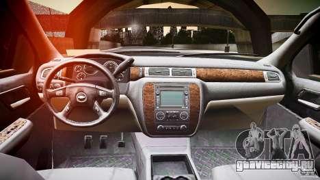 Chevrolet Silverado 1500 v1.3 2008 для GTA 4 вид сзади