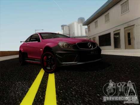 Mercedes Benz C63 AMG Coupe Presiden Indonesia для GTA San Andreas