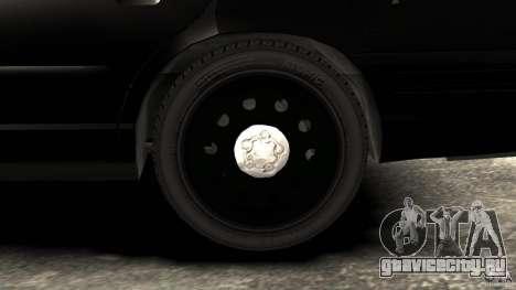 Ford Crown Victoria Police Interceptor 2003 LCPD для GTA 4 вид сзади