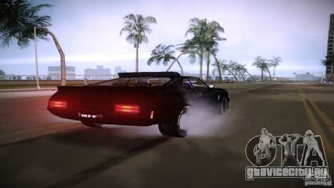 Ford Falcon GT Pursuit Special V8 Interceptor 79 для GTA Vice City вид справа