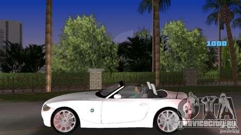BMW Z4 2004 для GTA Vice City вид слева