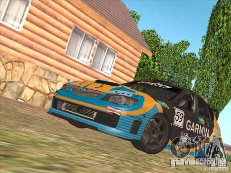 Subaru Impreza WRX STI N14 Gymkhana для GTA San Andreas салон