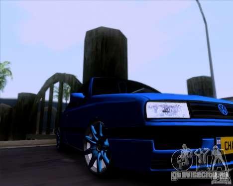 Volkswagen Golf III для GTA San Andreas вид сзади