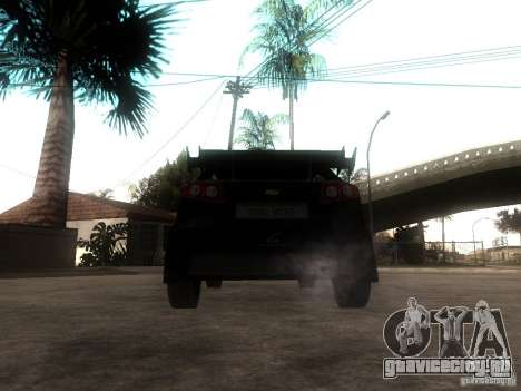 Chevrolet Lacetti Tuning для GTA San Andreas вид сзади слева