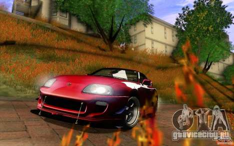 Toyota Supra D1 1998 для GTA San Andreas салон