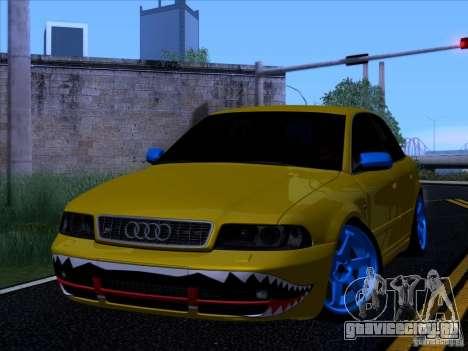 Audi S4 DatShark 2000 для GTA San Andreas вид сзади слева