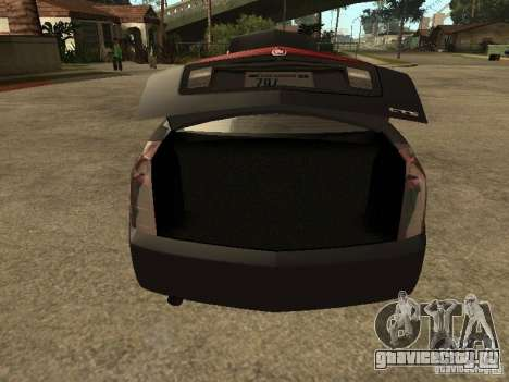 Cadillac CTS для GTA San Andreas вид сзади