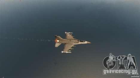 F-16C Fighting Falcon для GTA 4 вид сверху