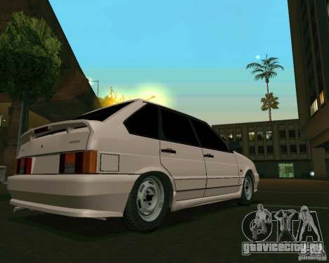 Ваз 2114 Экстра для GTA San Andreas вид слева