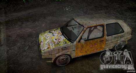 Volkswagen Golf Mk2 GTI Rat-Look для GTA 4