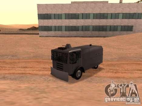 Полицейский водомет Rosenbauer для GTA San Andreas вид сзади