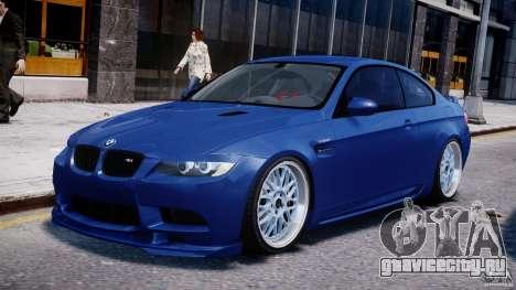 BMW M3 Hamann E92 для GTA 4 вид слева