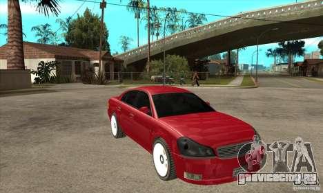 GTA IV Intruder для GTA San Andreas вид сзади
