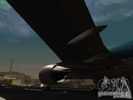 Boeing 777-200 KLM Royal Dutch Airlines для GTA San Andreas вид сбоку