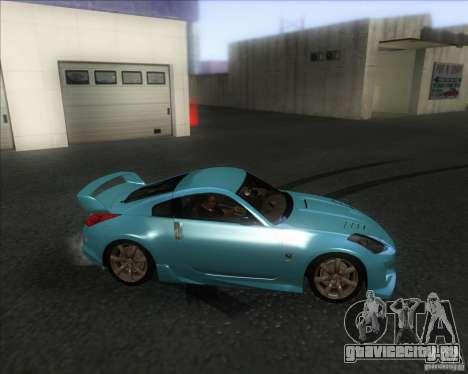 Nissan 350Z 2004 для GTA San Andreas вид слева
