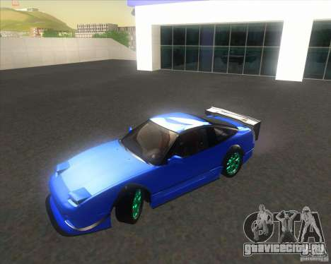 Nissan 240SX for drift для GTA San Andreas вид справа