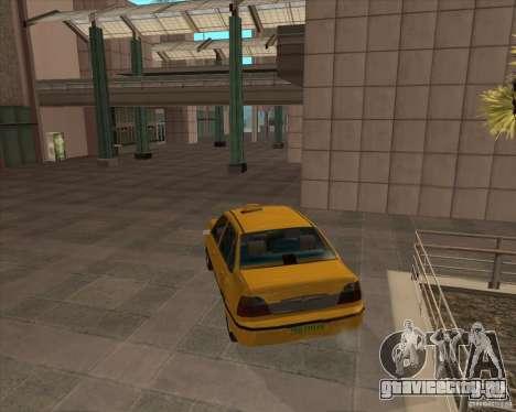 Daewoo Nexia Taxi для GTA San Andreas вид слева