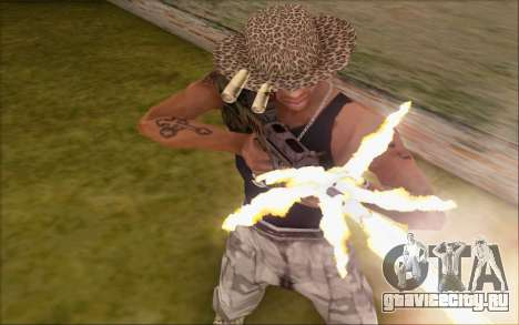 Tavor ctar-21 из WarFace v2 для GTA San Andreas третий скриншот